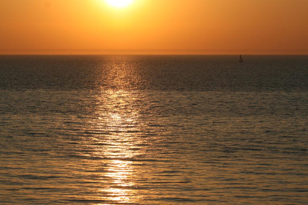 Sonnenuntergang Den Haag_2