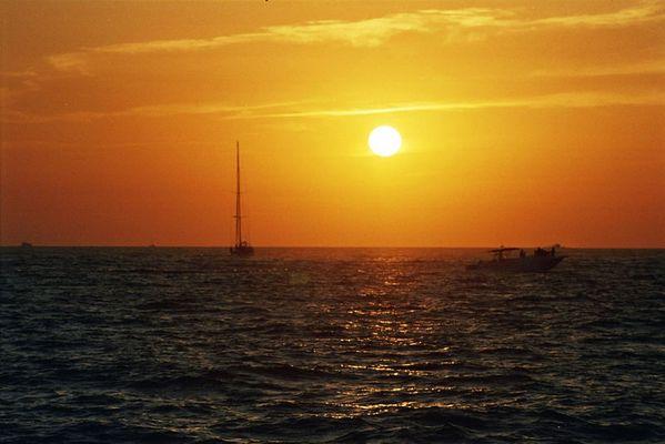 Sonnenuntergang der 2.te