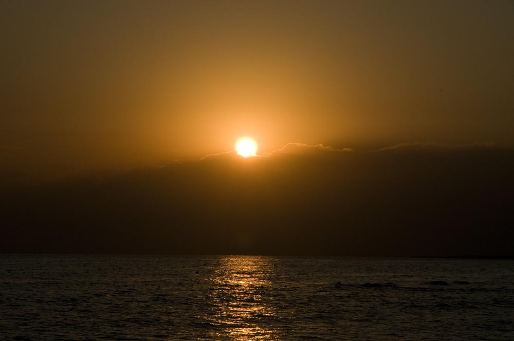Sonnenuntergang der Türkei