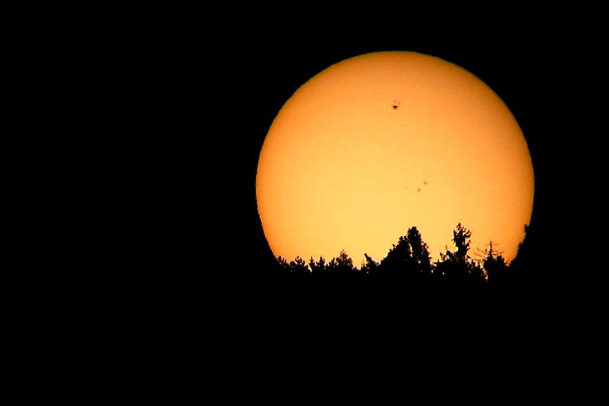 Sonnenuntergang des 11.05.2005