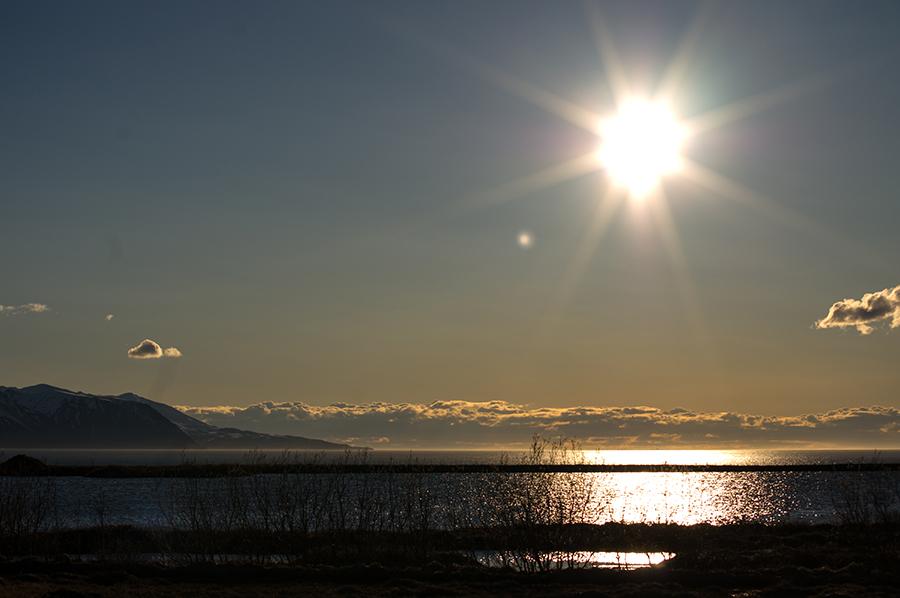 Sonnenuntergang die nordische Art