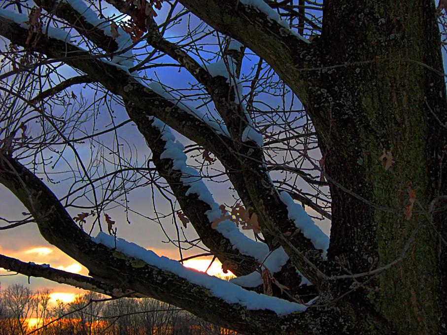 Sonnenuntergang Dietenbachsee