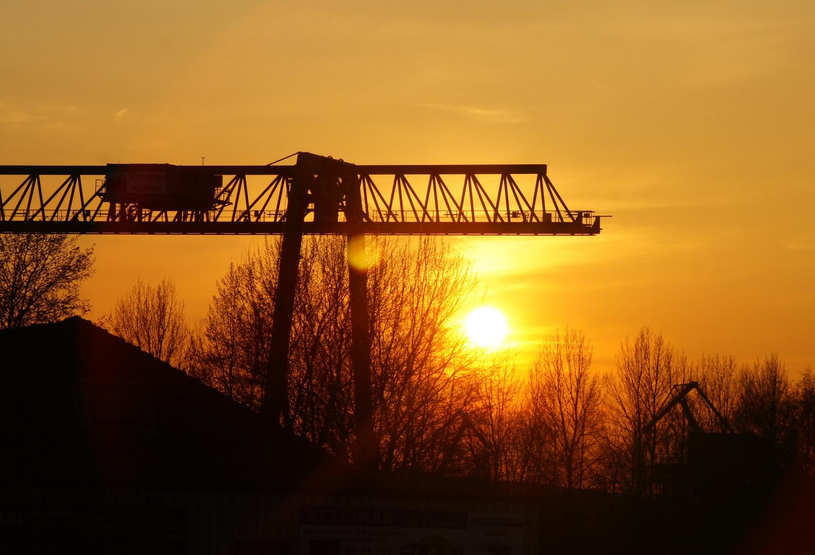 Sonnenuntergang, Dortmund Lindenhorst II