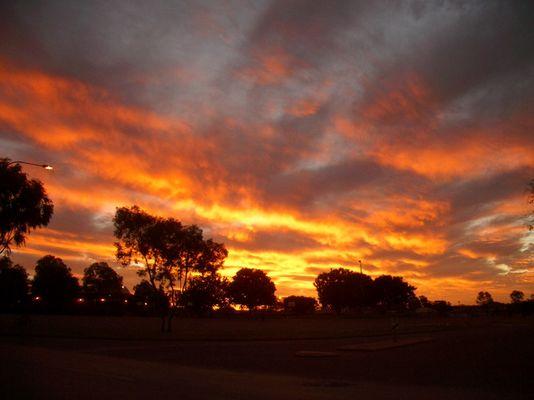 Sonnenuntergang down under