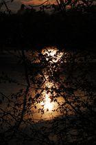 Sonnenuntergang Drachensee