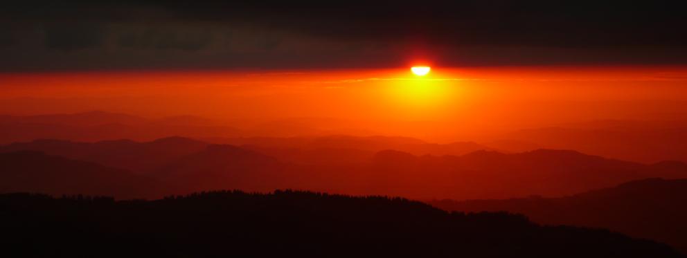 Sonnenuntergang Ebenalp
