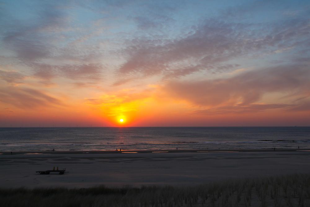 Sonnenuntergang Egmond aan Zee