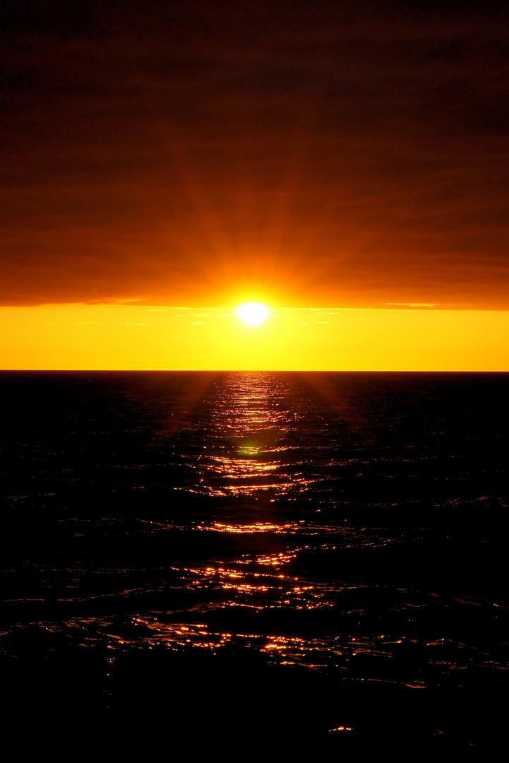 Sonnenuntergang.... einfach genießen...und träumen...