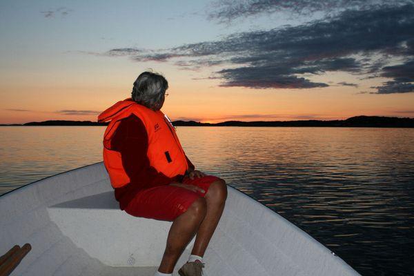 Sonnenuntergang Ellös Schweden