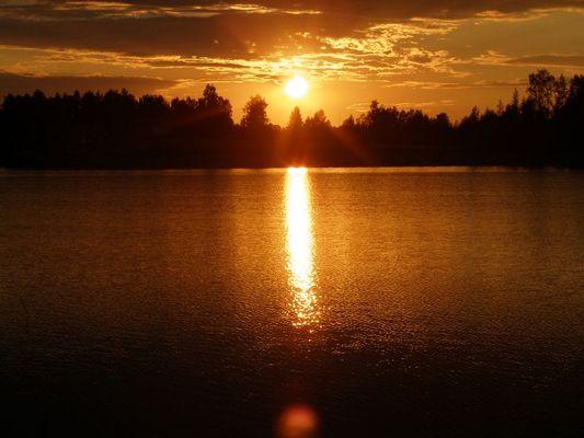 Sonnenuntergang Finnland 3