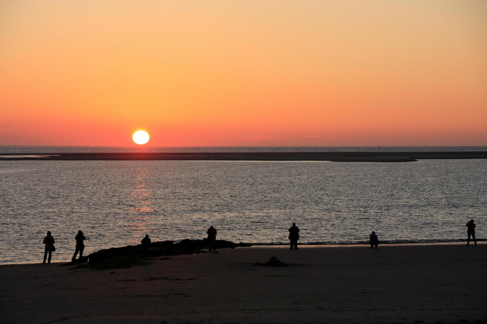 Sonnenuntergang fotografieren...