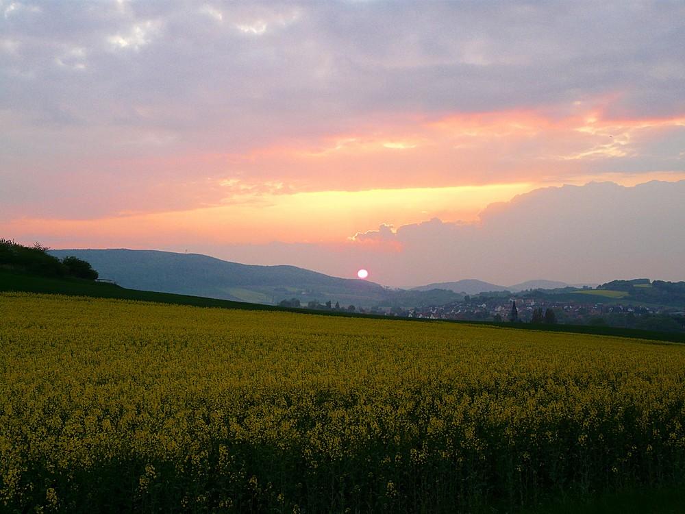 Sonnenuntergang Freden 2