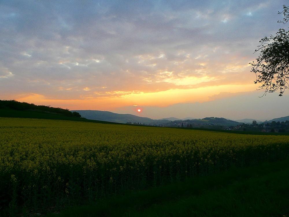 Sonnenuntergang Freden