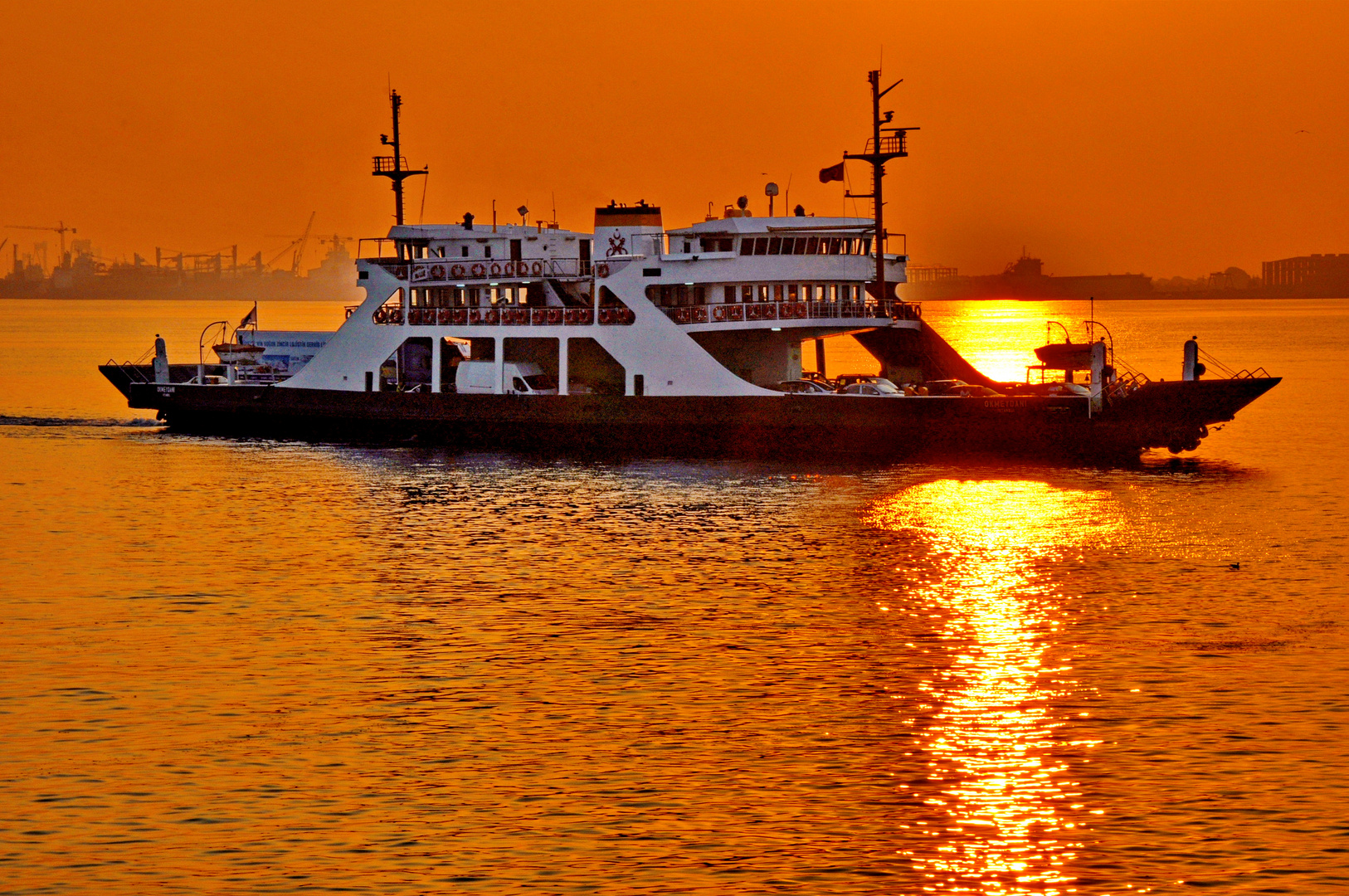 Sonnenuntergang, Gebze Türkei I