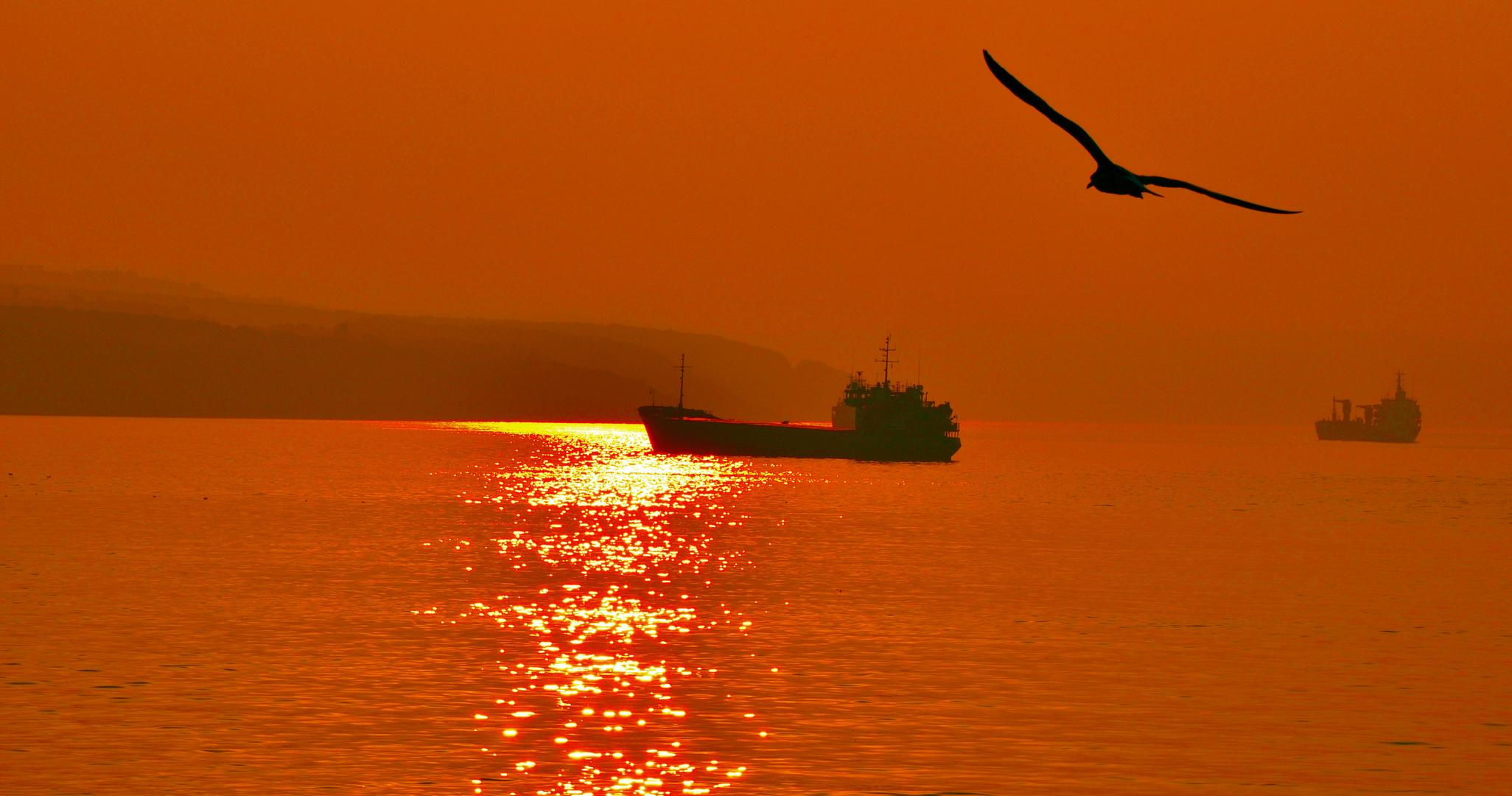 Sonnenuntergang, Gebze Türkei II