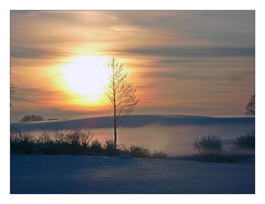 Sonnenuntergang gestern...