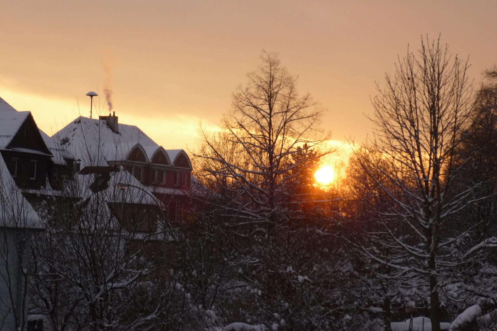 Sonnenuntergang Göppingen-Bartenbach