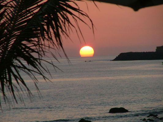Sonnenuntergang Gran Canaria Meloneras Strand
