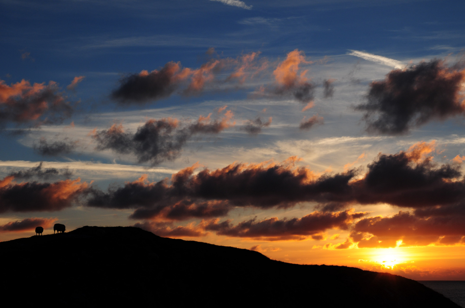Sonnenuntergang Haugesund