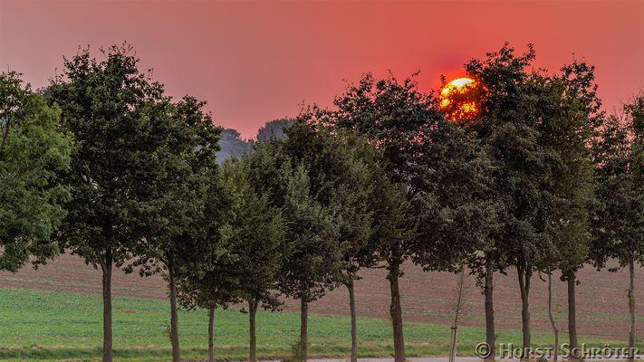 Sonnenuntergang HDR