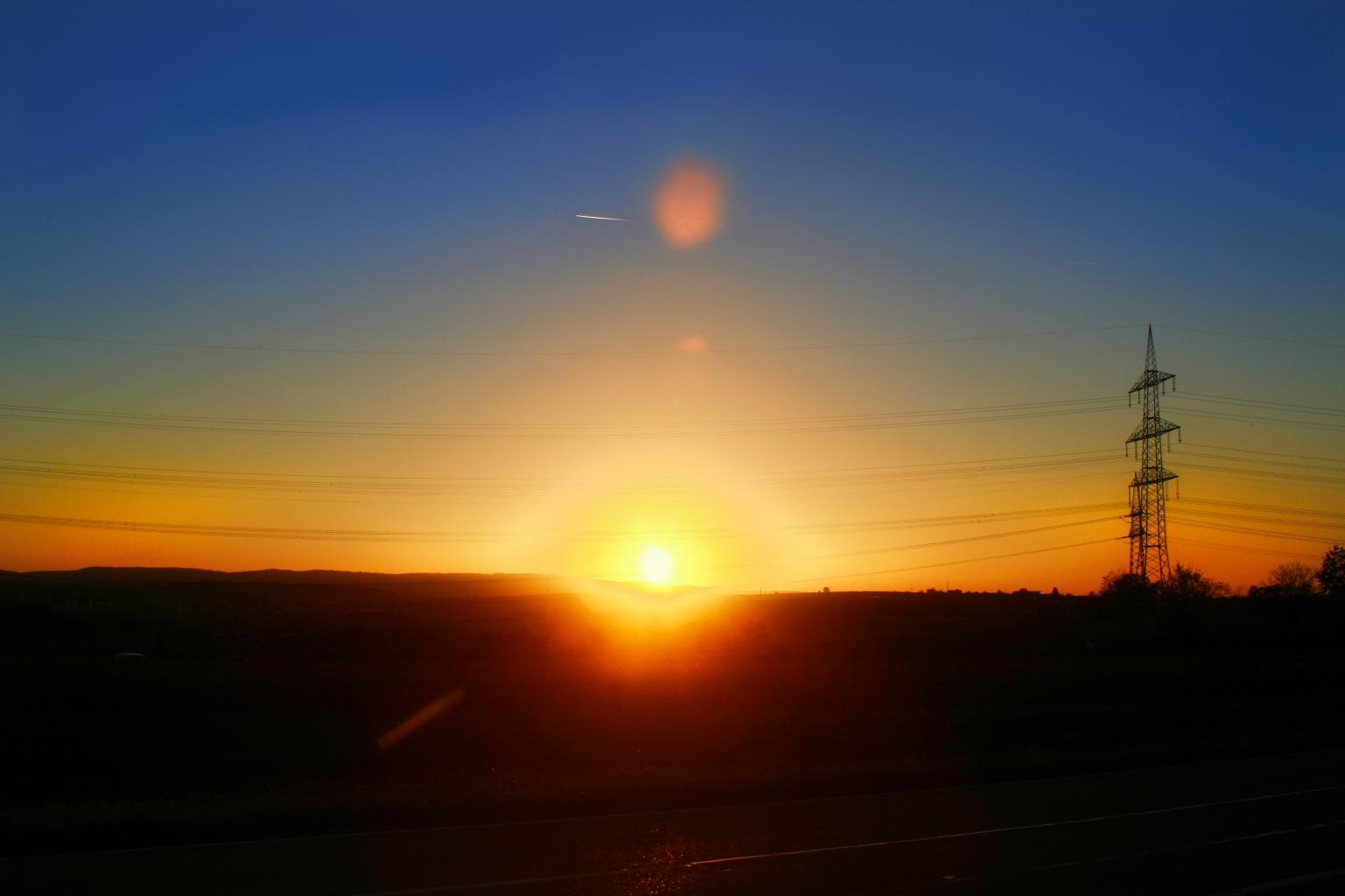 Sonnenuntergang Heilbronn
