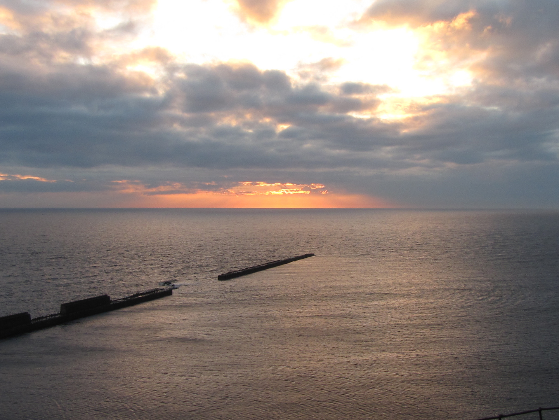 Sonnenuntergang - Helgoland