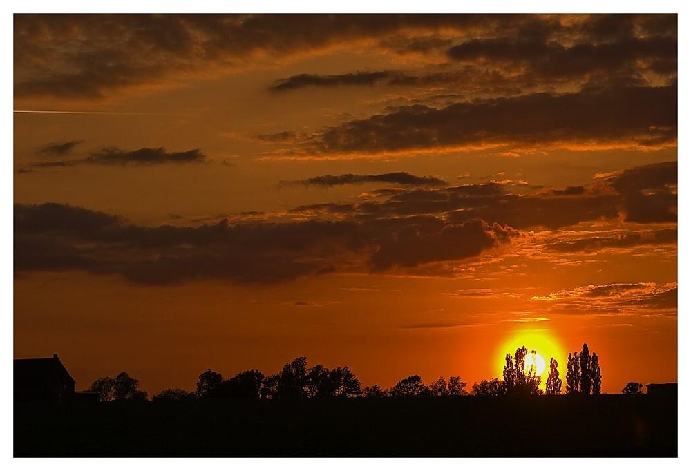 Sonnenuntergang heute.Abend...