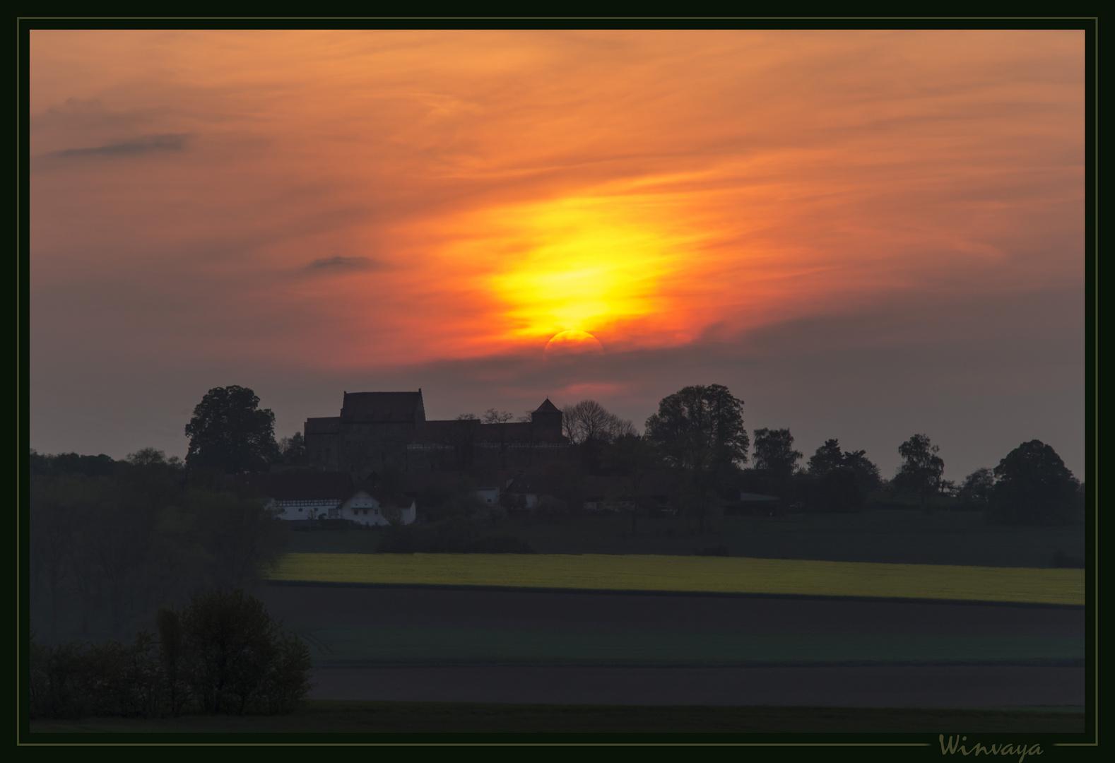 Sonnenuntergang hinter Fürsteneck