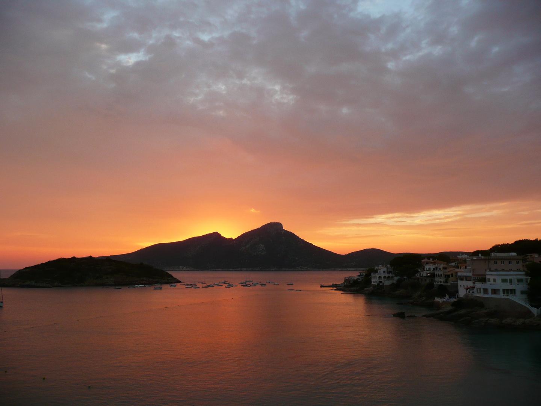 Sonnenuntergang hinter Sa Dragonera