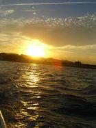 Sonnenuntergang hochkant--- endlich ;-)