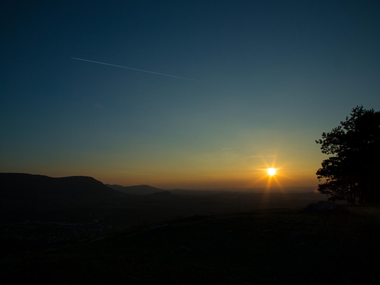 Sonnenuntergang Hörnle/Teck