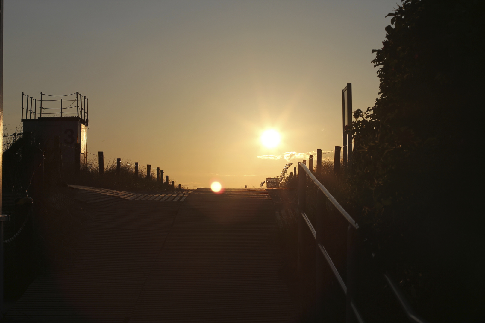Sonnenuntergang Hohe Düne