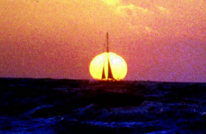 Sonnenuntergang Holland