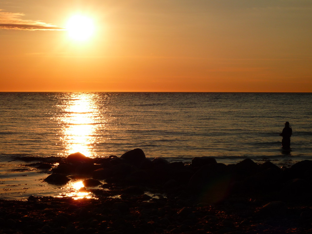 Sonnenuntergang Hundestat Dänemark 30.05.09 Bild 2