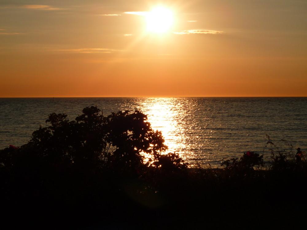 Sonnenuntergang Hundestat Dänemark 30.05.09 Bild 3