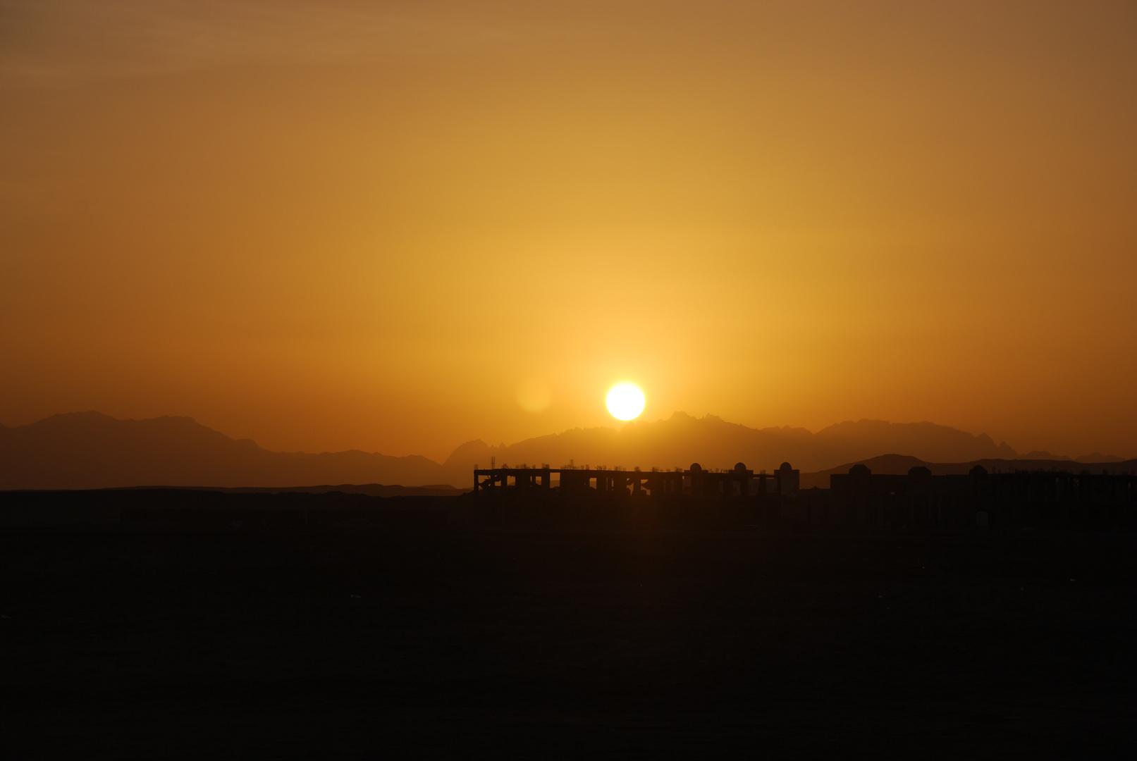 Sonnenuntergang Hurghada