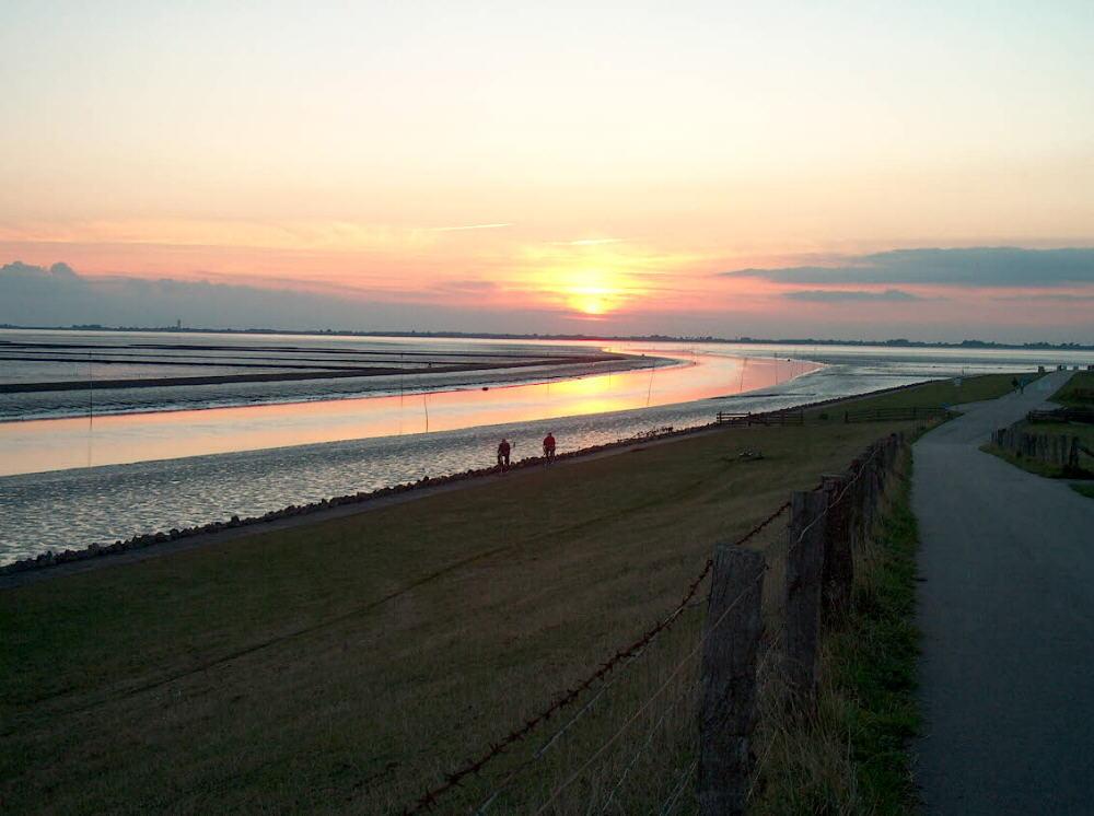 Sonnenuntergang Husum
