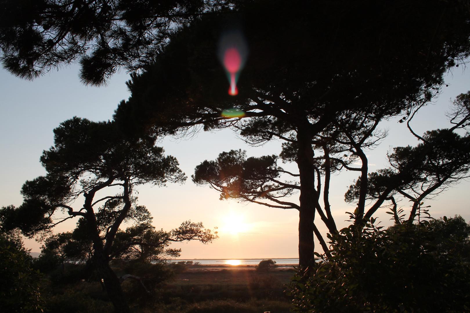 Sonnenuntergang Hyéres