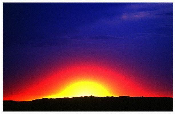 Sonnenuntergang im Arches National Park