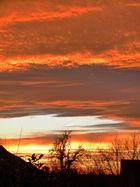 Sonnenuntergang im Bergischen Land