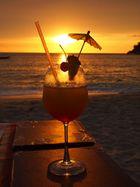Sonnenuntergang im Glas