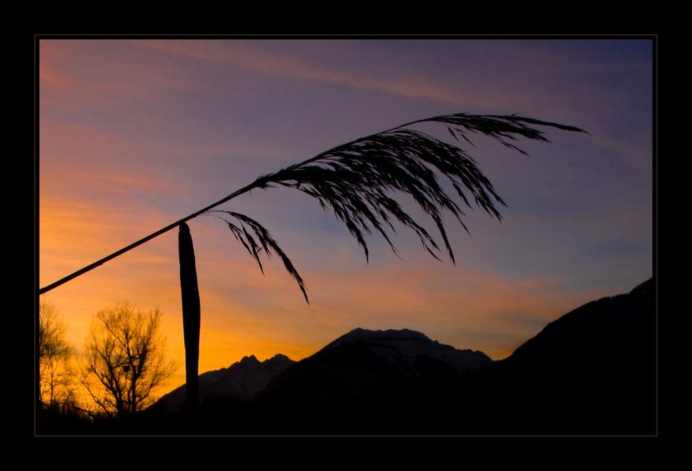 Sonnenuntergang im Inntal_1