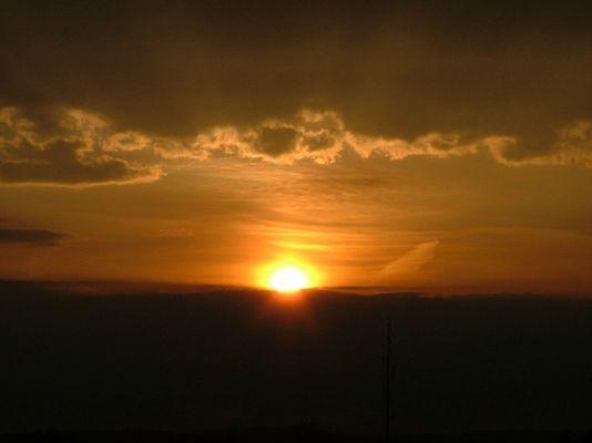 Sonnenuntergang im Kellnerweg