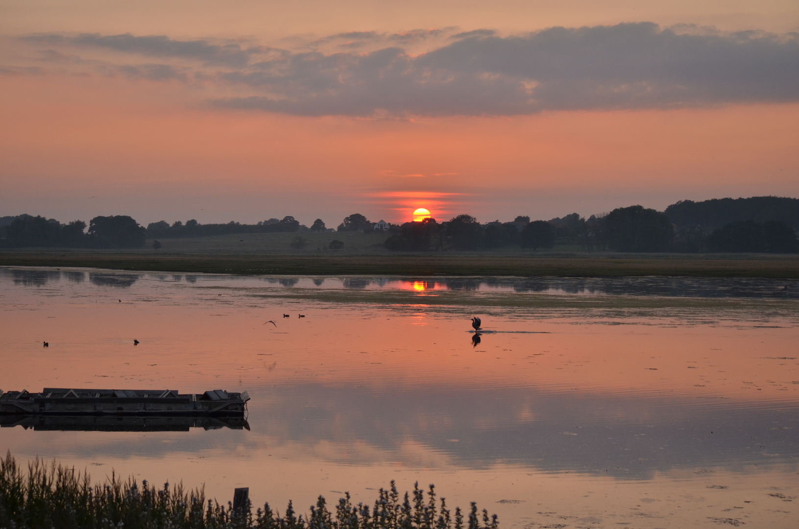 Sonnenuntergang im Naturschutzgebiet 2