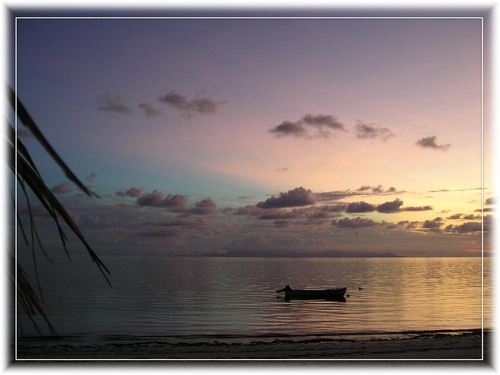 Sonnenuntergang im Paradis