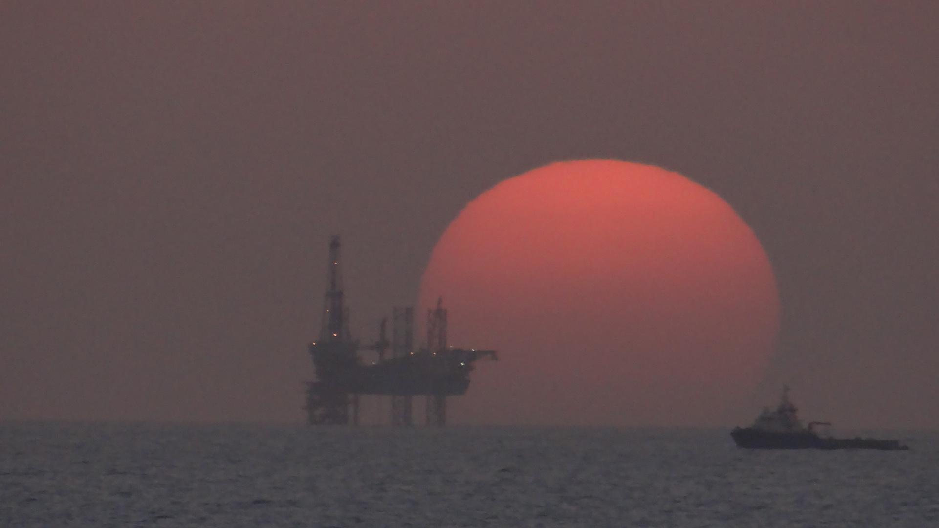 Sonnenuntergang im Persischen Golf