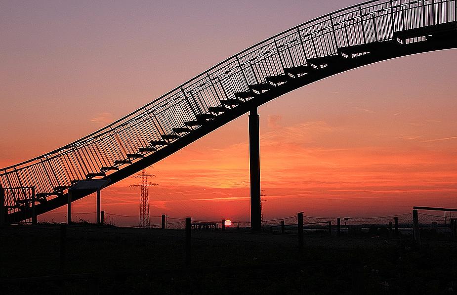 Sonnenuntergang im Pott