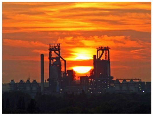 "Sonnenuntergang im ""Ruhrpott"""