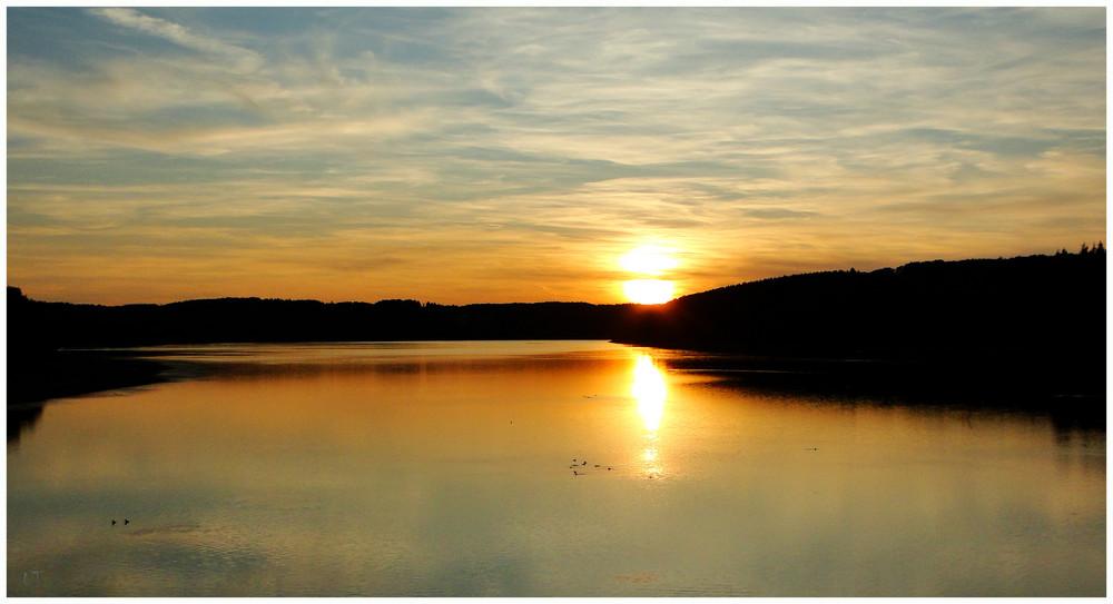 Sonnenuntergang im Sauerland No 3