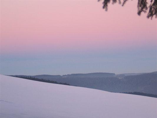 Sonnenuntergang im Schwarzwald 2
